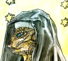 Reptilian Nun Sticker