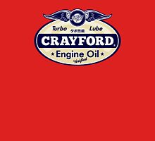 Crayford Engine Oil Unisex T-Shirt