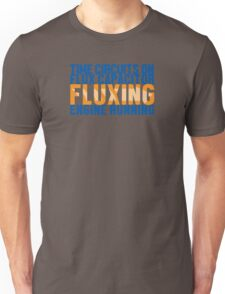 Back To The Future - Fluxing - Colored Clean Unisex T-Shirt