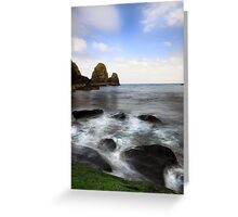 Green Rock- Nohoval Bay Cork Greeting Card