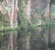 Manchester: canal walk Sticker