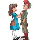Peter and Wendy by CherryGarcia
