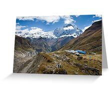 Annapurna Base Camp Greeting Card