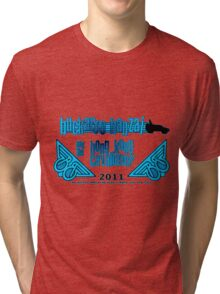 Buckaroo Banzai 2011 Tour - Blue Tri-blend T-Shirt
