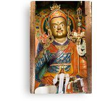 Buddhist idol Canvas Print