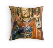 Buddhist idol Throw Pillow