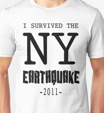 I SURVIVED THE NY CITY EARTHQUAKE Unisex T-Shirt