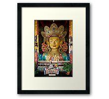 Maitreya Buddha  Framed Print