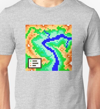 Pixel Topography Unisex T-Shirt