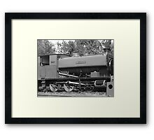 Betters days steamed by Framed Print
