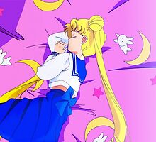 Sleeping Sailor Moon by Optimistic  Sammich