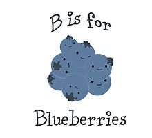 B is for Blueberries by Eggtooth