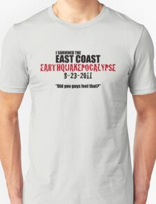 EARTHQUAKEPOCALYPSE 2011 T-Shirt