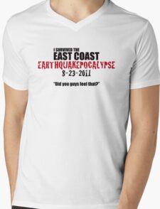 EARTHQUAKEPOCALYPSE 2011 Mens V-Neck T-Shirt