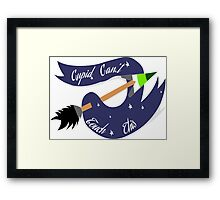 Cupid's Aro Framed Print