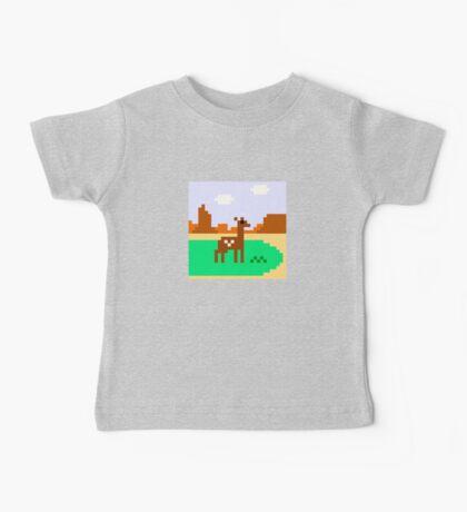 Deer in Meadow Baby Tee