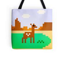 Deer in Meadow Tote Bag