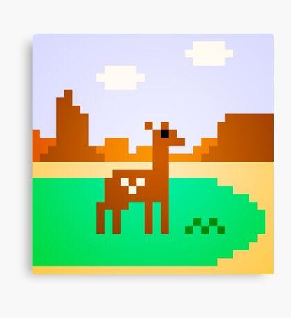 Deer in Meadow Canvas Print
