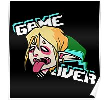 Link - GAME OVER Poster