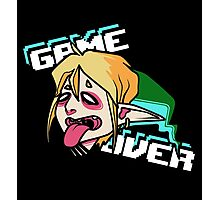 Link - GAME OVER Photographic Print