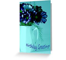 Birthday Greetings Greeting Card