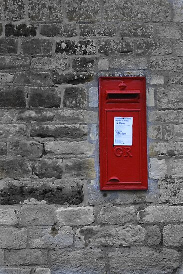 Just another Post Box in the Wall by yampy