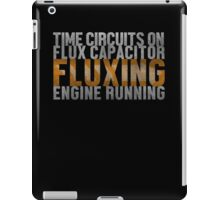 Back To The Future - Fluxing - White Dirty iPad Case/Skin