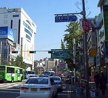 street in seoul by H J Field