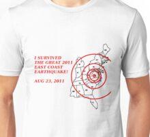 I Survived the East Coast Earthquake Unisex T-Shirt