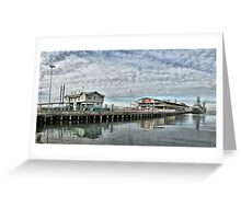 Station Pier #1 Greeting Card