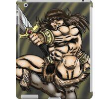 Leaping Barbarian iPad Case/Skin