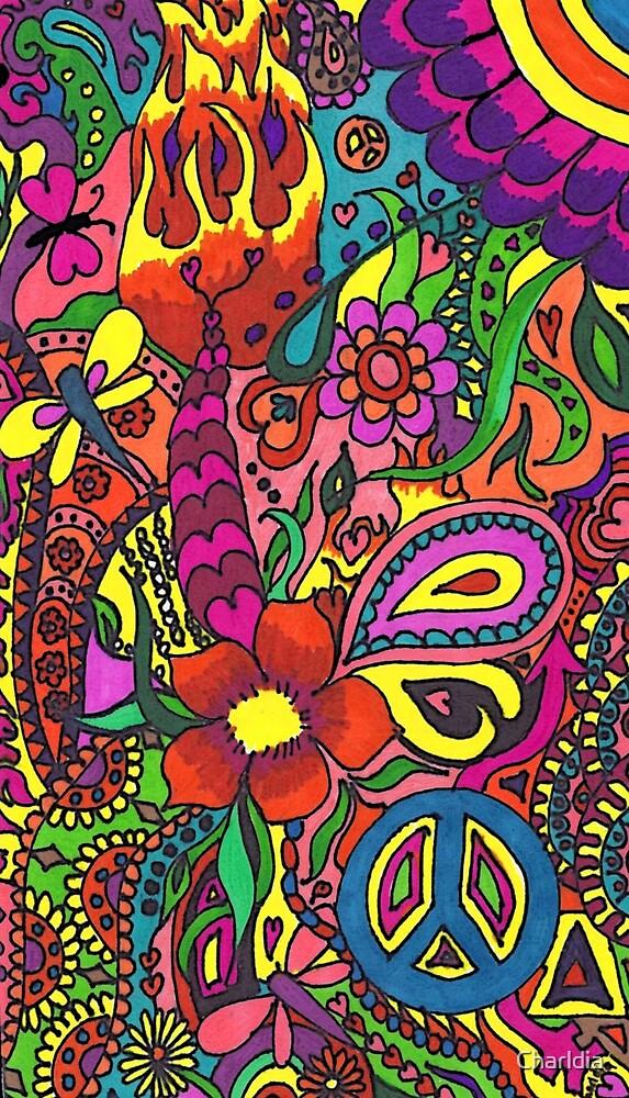 Sharpie Fun Doodling by Charldia