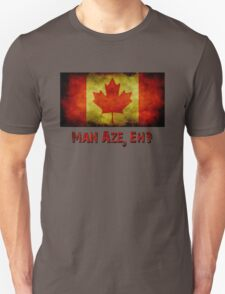 Canada Flag with Mayo Reference T-Shirt