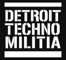 Detroit Techno Militia Kids Clothes