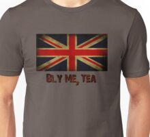 British Flag with Tea Reference Unisex T-Shirt
