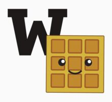W is for Waffle Kids Clothes