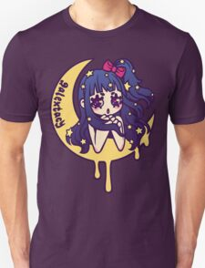 Werepop - galaxy moon starry night girl Unisex T-Shirt