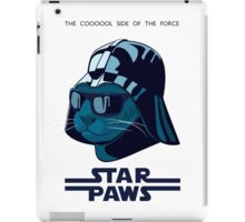Darth Kitty - Imperial blue iPad Case/Skin