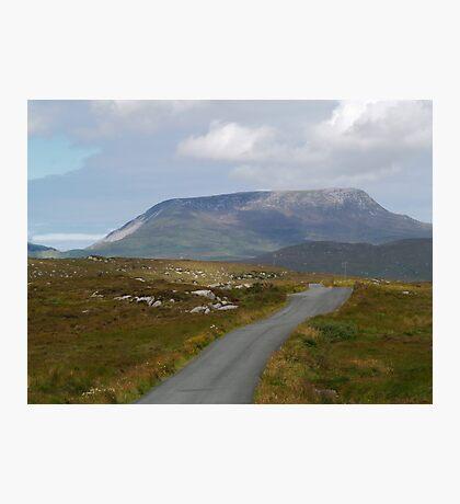 Muckish Mountain Photographic Print
