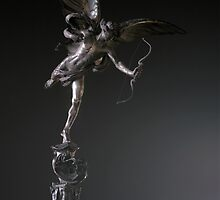 Eros -Statue of Anteros on the Shaftesbury Monument by Adam Dorman