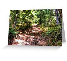 Blue Ridge Trail Greeting Card
