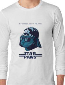 Darth Kitty - Imperial blue Long Sleeve T-Shirt