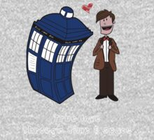 True love through time& space Kids Clothes