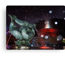Fountains 'n' Faeries Canvas Print