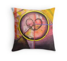 Tears Stain the Eye of Reason. Throw Pillow