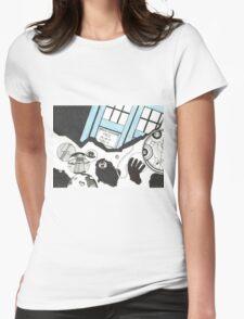 The Medusa Cascade Womens Fitted T-Shirt