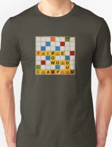 Triple Word Champion Unisex T-Shirt