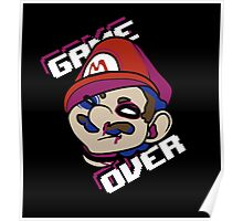 Mario - GAME OVER Poster