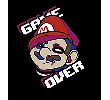 Mario - GAME OVER Photographic Print