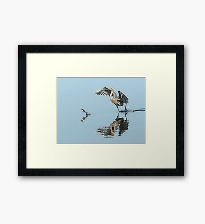 The Chase is On Framed Print